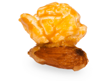 Caramel Almond Popcorn